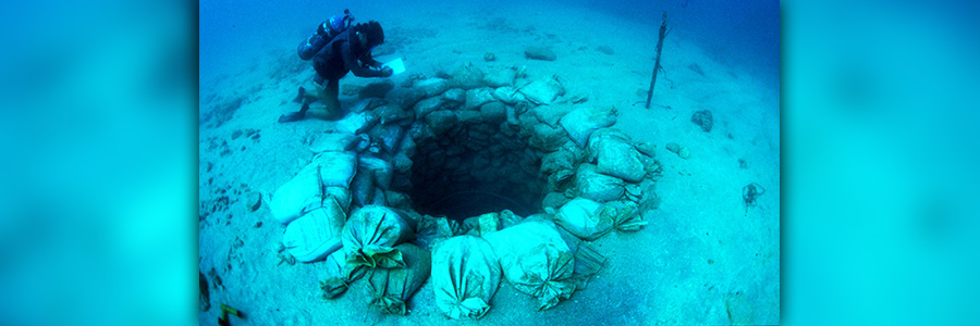 Preserving the 10.000 years old underwater archaeological heritage of Israel