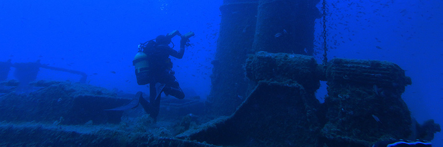 Immersione tecnica oltre i 100 m