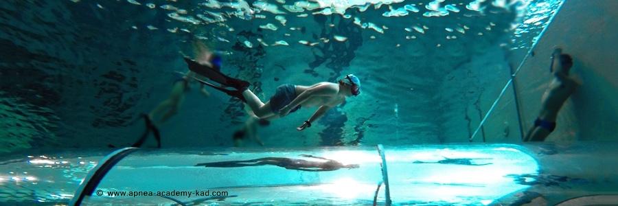 Bambini più sicuri in acqua con l'apnea