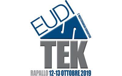 12 e 13 ottobre 2019. La 2° edizione di Euditek