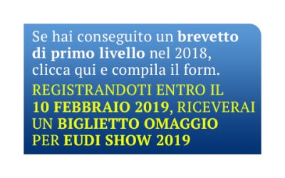 Tutti i neo sub gratuitamente a EudiShow 2019