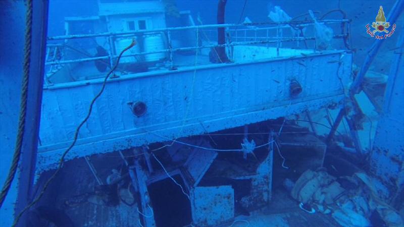 Gli infiniti interventi dei VVFF sott'acqua