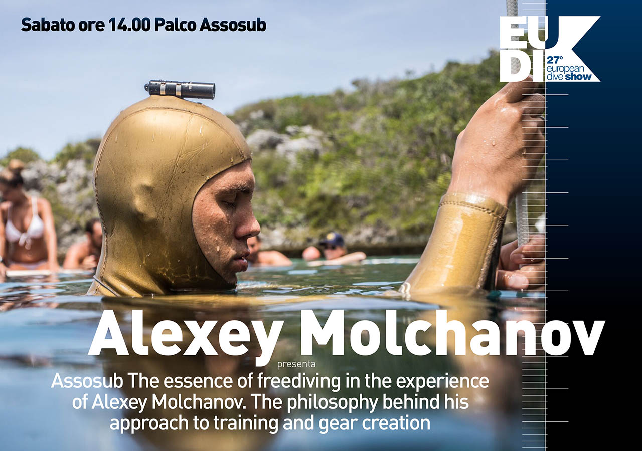 The essence of freediving in the experience of Alexey Molchanov