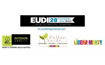 Eudi 2020 in contemporanea con Outdoor, Liberamente e Pollice Verde