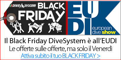 Black Friday all'EUDI Show - DiveSystem