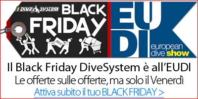 Black Friday all'EUDI Show - DiveSystem