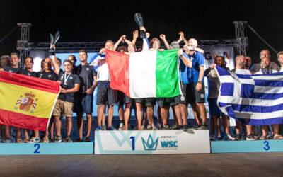 Non solo De Mola nell'individuale, ma va all'Italia anche il titolo di Campioni del Mondo a squadre di Pesca in Apnea